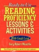 Ready-to-use Reading Proficiency Lessons and Activities - Gary R. Muschla