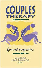 Couples Therapy - Esther D Rothblum, Marcia Hill