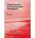 Value Functions for Environmental Management - Euro Beinat