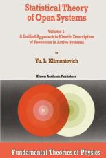 Statistical Theory of Open Systems - Yu.L. Klimontovich