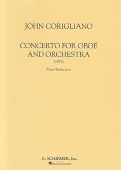 Corigliano: Concerto for Oboe and Orchestra (1975): Piano Reduction - Komponist: Corigliano, John
