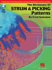 The Dictionary of Strum & Picking Patterns [With CD (Audio)] - Sokolow, Fred