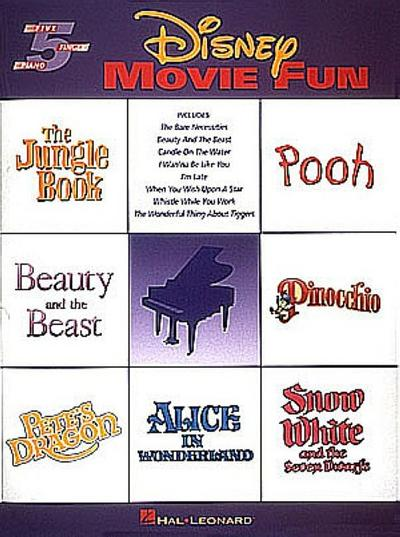 Disney Movie Fun: Five-Finger Piano - Hal Leonard Corp