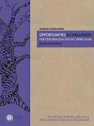Opportunities & Challenges for Teacher Education Curriculum in South Africa