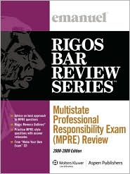 Multistate Professional Responsibility Exam (MPRE) Review (Course 5319)