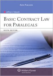 Basic Contract Law for Paralegals, Sixth Edition - Jeffrey A. Helewitz