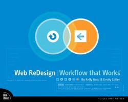Web Redesign : Workflow That Works - Kelly Goto and Emily Cotler