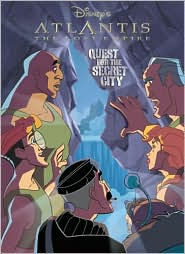 Atlantis: Quest For The Secret City: Super Coloring Time - Random House / Disney