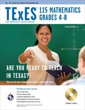 Texes 115 Mathematics 4-8 W/CD-ROM - Friedman, Mel / Wilkerson, Trena