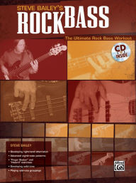 Rock Bass: Book & CD - Steve Bailey