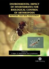 Environmental Impact of Arthropod Biological Control: Methods and Risk Assessment - Babendreier, Dirk / Bigler, Franz / Kuhlmann, Ulrich