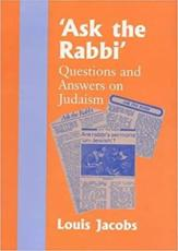 Ask the Rabbi - Louis Jacobs
