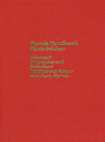 Metals Handbook: Properties and Selection : Nonferrous Alloys and Pure Metals: 002