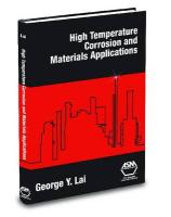 High-Temperature Corrosion and Materials Applications