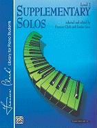 Supplementary Solos: Level 2