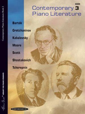 Contemporary Piano Literature, Bk 3 - Frances Clark (Editor), Goss