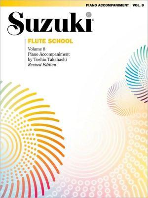 Suzuki Flute School, Vol 8: Piano Acc.