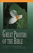 Great Prayers of the Bible (Fisherman Bible Studyguides)