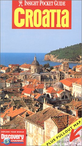 Insight Pocket Guide with map Croatia (Insight Guides)