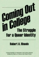 Coming Out in College - Robert A. Rhoads