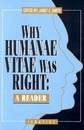 Why Humanae Vitae Was Right - Janet E. Smith