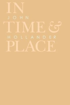 In Time and Place - Hollander, John