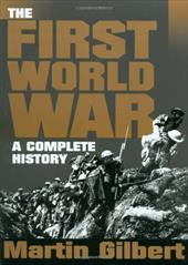 First World War - Gilbert, Martin