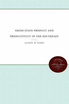Gross State Product and Productivity in the Southeast - Niemi, Albert W.