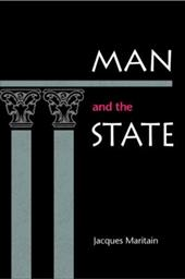 Man and the State - Maritian, Jacques / Maritain, Jacques / Maritain