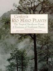 Gentry's Río Mayo Plants - Paul S. Martin, Howard Scott Gentry