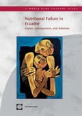 Nutritional Failure in Ecuador: Causes, Consequences, and Solutions - World Bank Group