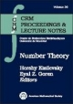 Number Theory - Hershy Kisilevsky; Eyal Goren