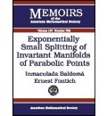 Exponentially Small Splitting of Invariant Manifolds of Parabolic Points - Inmaculada Baldoma