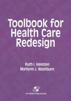 Toolbook for Health Care Redesign