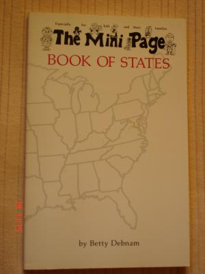 The Mini Page Book of States - Betty Debnam