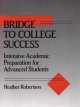 Bridge to College Success - Heather Robertson
