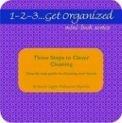 Three Steps to Clever Cleaning: A Step-By-Step Guide to Cleaning Your Home