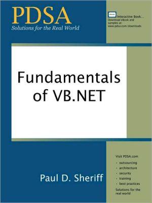Fundamentals of VB.NET - Paul D. Sheriff