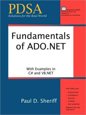 Fundamentals of ADO.NET - Paul D. Sheriff