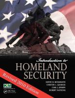 Introduction to Homeland Security: Revised 2010 Edition