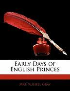 Early Days of English Princes