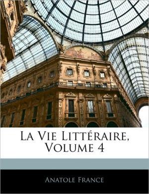 La Vie Litta - Anatole France