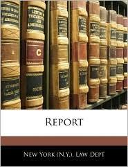 Report - New York (N.Y.). Dept. Of Health