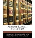Annual Report, Volume 89 - Of The State of New University of the State of New York