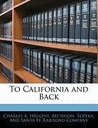 To California and Back