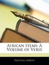 African Items - Perceval Gibbon