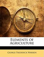 Elements of Agriculture