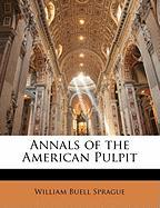 Annals of the American Pulpit