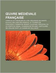 Uvre M Di Vale Fran Aise - Source Wikipedia, Livres Groupe (Editor)