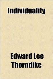 Individuality - Edward Lee Thorndike